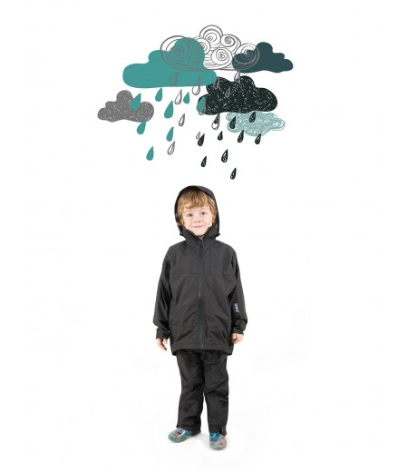 360 Degrees Kids Stratus Rain Jacket