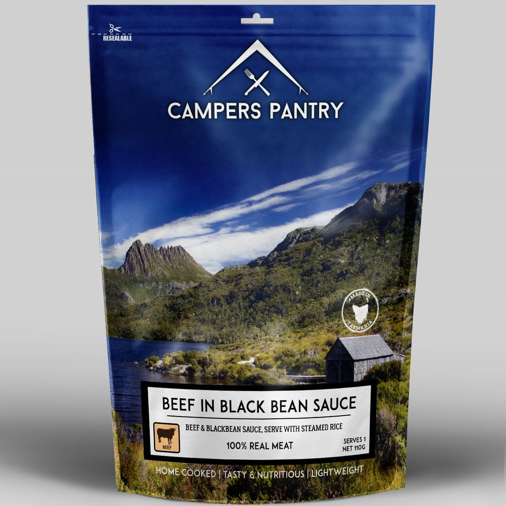 Campers Pantry Mains (1 Serve, Beef & Blackbean)