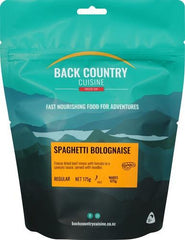Backcountry Cuisine Spaghetti Bolognaise (Regular)