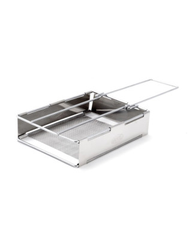 GSI Glacier Stainless Folding Toaster
