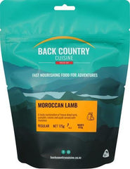 Backcountry Cuisine Moroccan Lamb (Small)