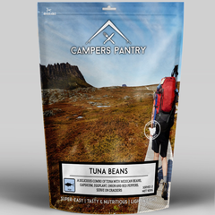 Campers Pantry Lunch (2 Serve, Tuna Beans)