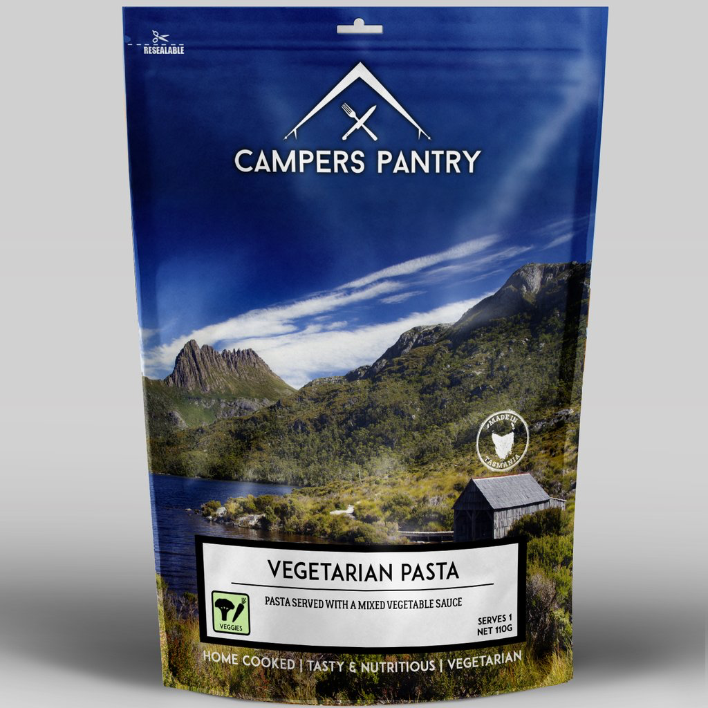 Campers Pantry Mains (1 Serve, Vegetarian Pasta)