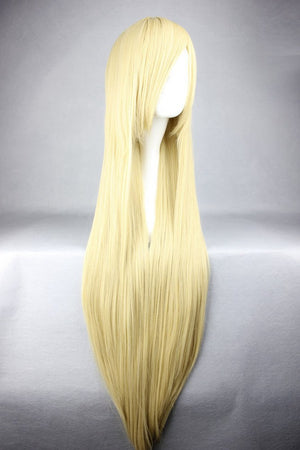 21 Colors 100cm Long Umineko no Naku Koro ni-Thank silk tower blonde Cosplay anime Wig,Colorful Candy Colored synthetic Hair Extension Hair piece 1pcs WIG-018