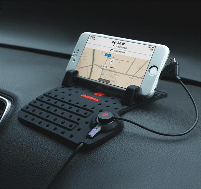 Car Phone Holder Bracket with Charger