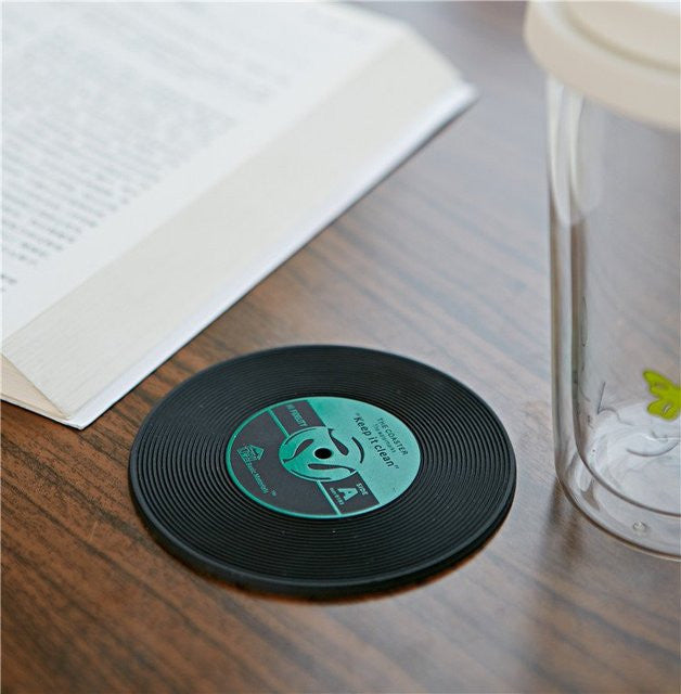 Cd Record Drinks Coasters