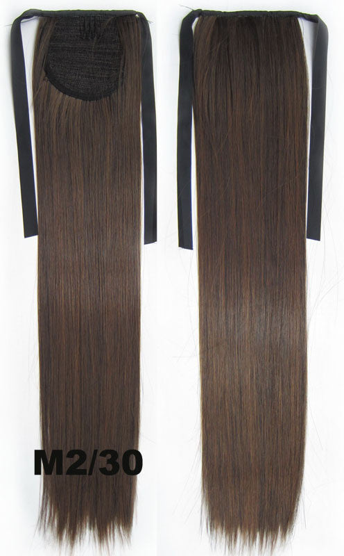 Hair Extension,Ponytail with band,Ribbon Ponytail,Straight hair,Wig Hairpiece,synthetic hair wig,woman wigs,wig hairs,Bath & Beauty,Accessories RP-666 M2/30