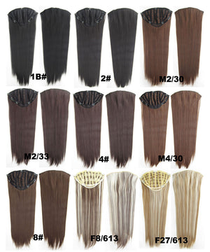 Bath & Beauty 7 Clip in Elastic Cap Wig Straight hair synthetic hair extension hairpieces wavy slice curly hairpiece SCH-666 613#,Hair Care,fashion Cosplay ombre 1PCS