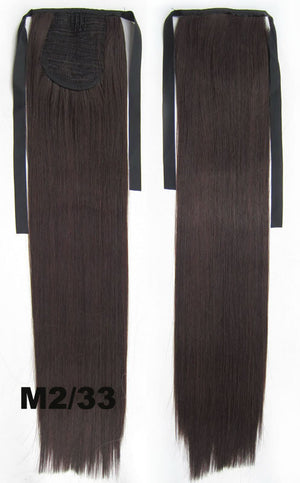 16 Colors Hair Extension,Ponytail with band,Ribbon Ponytail,Straight hair,Wig Hairpiece,synthetic hair wig,woman wigs,wig hairs,Accessories RP-666
