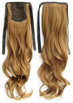 Curly hair,Kinky wavy Wig Hairpiece,Ribbon Ponytail,synthetic hair wig,womanwigs,wig hairs,Accessories,High-temperature wire RP-888 27#