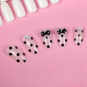 Bow Leopard 3D carved Manicure tablets False nail Bride Manicure tablets nail stickers bradawl nail painting 54#