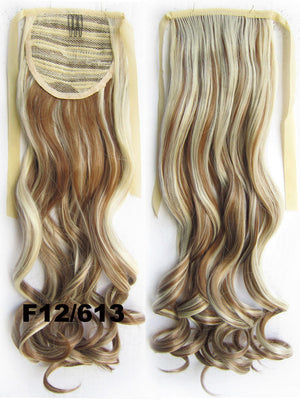 16 Colors Curly synthetic hair extension,Ribbon ponytail synthetic hair extension Clip In on Hair Pony,Wavy Hairpiece,woman wigs,wig hairs,Accessories,Bath & Beauty RP-888,1pcs