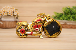 unique The alarm clock motorcycle upgrade students gifts crafts,gifts modern decorative Desk clock Clocks and watches