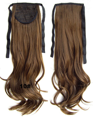 Ribbon Ponytail,wavy Curly hair,Wig Hairpiece,synthetic hair wig,woman wigs,wig hairs,Accessories,High-temperature wire RP-888