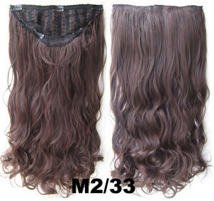 Bath & Beauty 7 Clip in Elastic Cap Wig Curly hair synthetic hair extension hairpieces wavy slice curly hairpiece SCH-888 M2/33,Hair Care,fashion Cosplay ombre 1PCS