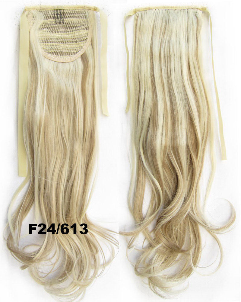 Wavy Curly hair,Wig Hairpiece,Ribbon Ponytail,synthetic hair wig,woman wigs,wig hairs,Accessories,High-temperature wire RP-888 F24/613