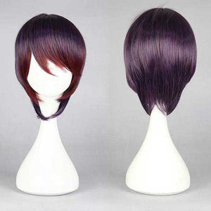 30cm Arashi Ginko Yurishiro beautiful Bob female fashion cosplay wig,Colorful Candy Colored synthetic Hair Extension Hair piece 1pcs WIG-576A