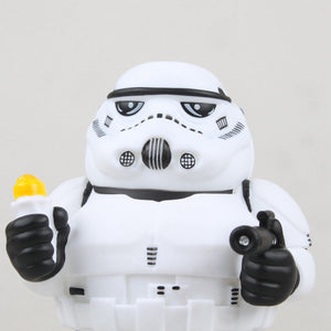 WOLVES WORLD fat series Chubbiness Star Wars Original white soldiers fat white knight Storm Trooper PVC ACGN figure Toy Fight for Chicken Rolls Action Figure Doll Collectible modelo Toy