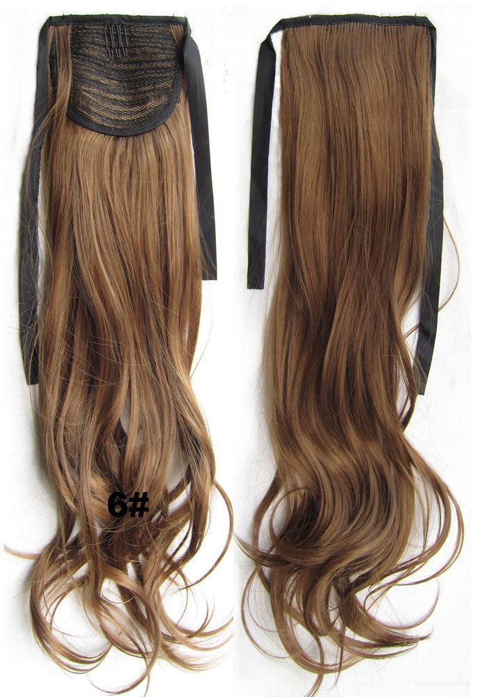 Ribbon Ponytail,wavy Kinky Curly hair,Wig Hairpiece,synthetic hair wig,woman wigs,wig hairs,Accessories,High-temperature wire RP-888 6#