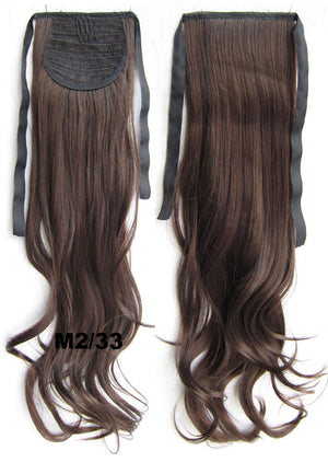 M2/33 Curly hair,wavy Wig Hairpiece,Ribbon Ponytail,synthetic hair wig,womanwigs,wig hairs,Accessories,High-temperature wire RP-888