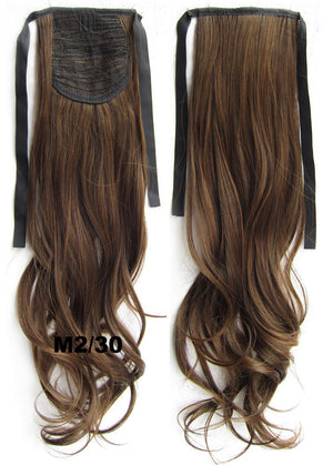 M2/30 Curly hair,wavy Wig Hairpiece,Ribbon Ponytail,synthetic hair wig,woman wigs,wig hairs,Accessories,High-temperature wire RP-888