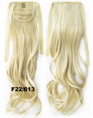 Curly hair,wavy Wig Hairpiece,Ribbon Ponytail,synthetic hair wig,woman wigs,wig hairs,Accessories,High-temperature wire RP-888 F22/613