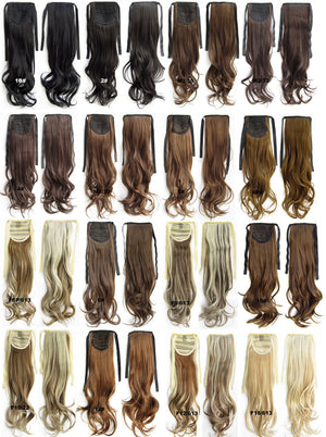 F18/613 Ribbon Ponytail,wavy Kinky Curly hair,Wig Hairpiece,synthetic hair wig,woman wigs,wig hairs,Accessories,High-temperature wire RP-888