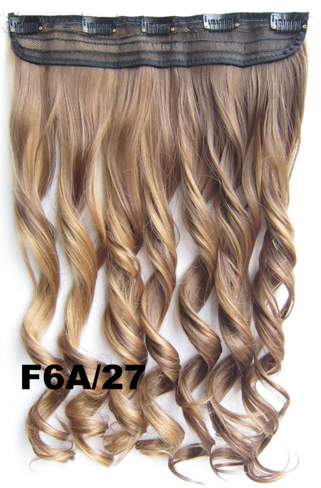 Bathbeauty Clip In Synthetic Hair Extension Hairpieces 5 Clips In