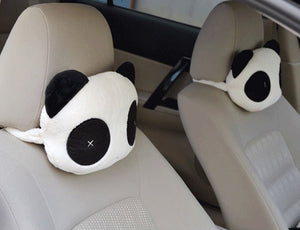 Panda Car Seat Headrest