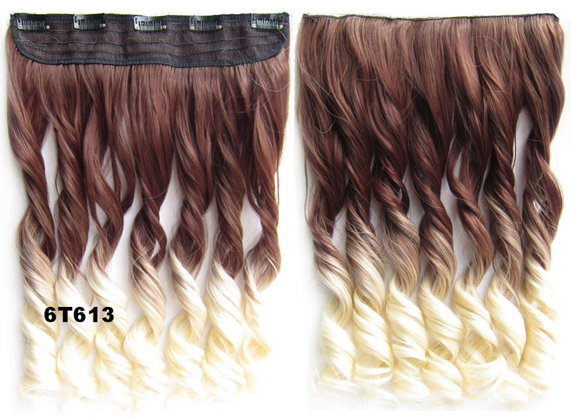 Dip dye hairpieces New Fashion 24