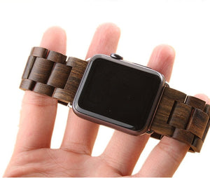 Ebony Wood 42mm Apple Watch Band