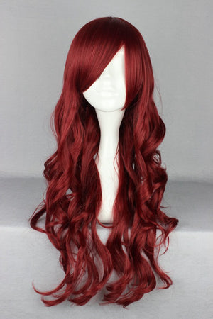 Cosplay Wigs 70cm Fashion Girls and Boys Anime Party Gothic Wig,Colorful Candy Colored synthetic Hair Extension Hair piece 1pcs WIG-404A