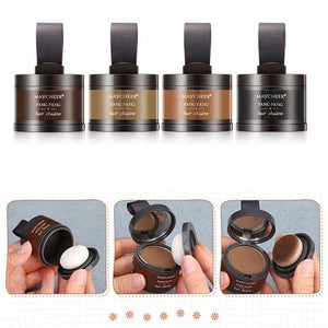 Hair Line Shadow Powder Hair Building Fibers Hairline Modified Repair Hair Loss Shadow Trimming Powder Makeup Hair Concealer Natural Cover Beauty