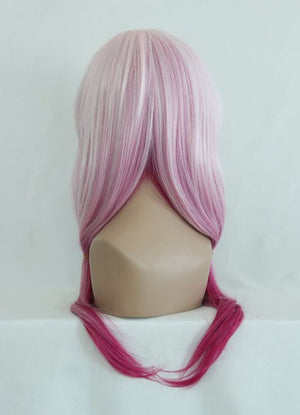 Beautiful Fashion Style Japanese Guilty Crown Yuzuriha Inori Cosplay Wig,Colorful Candy Colored synthetic Hair Extension Hair piece 1pcs WIG-087A