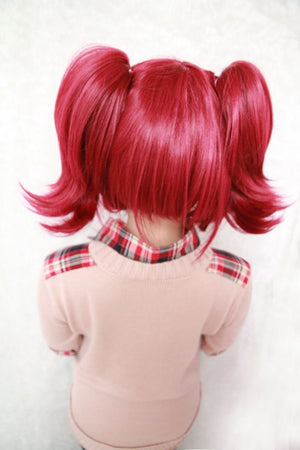 Cosplay Wig,Colorful Candy Colored synthetic Hair Extension Hair piece 1pcs WIG-034A