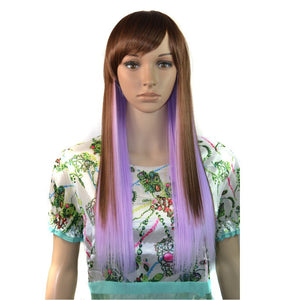Princess Cosplay Wig for girl TC-1209-01# heat resistant synthetic long hair wig with free cap$clip&comb