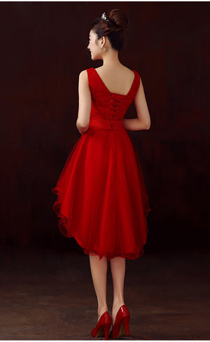 Length evening dress 2015 new spring models wedding dress the bride toast clothing bridesmaid dress big yards female red summer 142211245