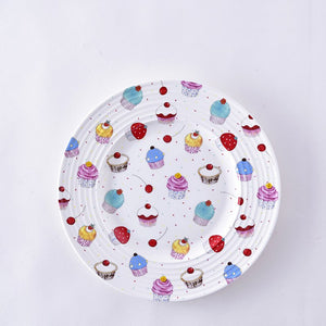 Ceramic Happy Birthday Plate