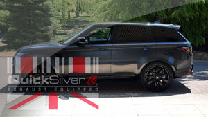 LAUNCHED QuickSilver Sound Architect Exhaust for the Range Rover Sport P400 I6 Turbo!!!!