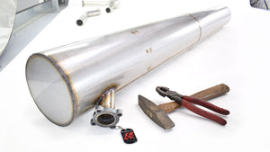 Rolls Royce 20/25 Stainless Steel Exhaust made to order.