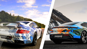 When Porsche Art Imitates.... Porsche Art?