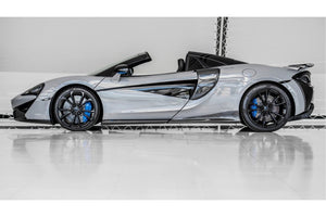 McLaren 570s QuickSilver Ceramic Coated Titanium Sports Exhaust