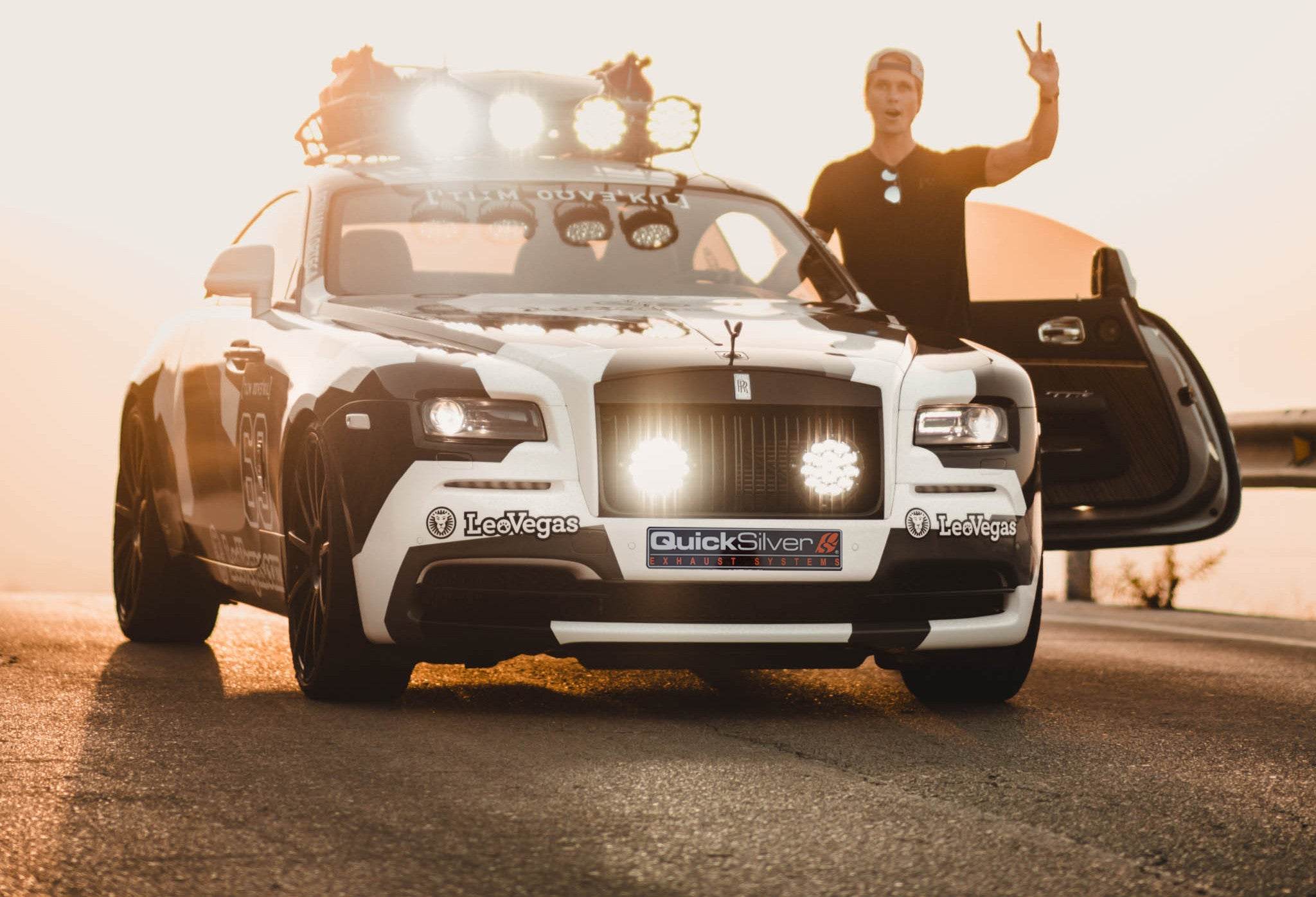 QuickSilver X Jon Olsson: George The Rolls-Royce