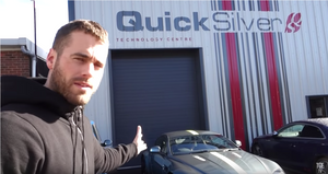 YouTuber TGE TV gets His Aston Martin V8 Vantage AMR QuickSilver Equipped
