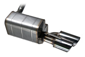 Rolls Royce 25/30 Early - Stainless Steel Exhaust (1936-38)