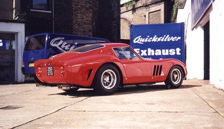 Ferrari 250 GTO Stainless Steel Exhaust (1962-64)
