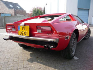 Maserati Merak Stainless Steel Exhaust (1972-87)