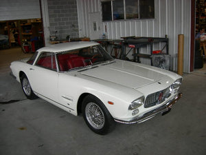 Maserati 5000 GT - Stainless Steel Exhaust (1959-64)