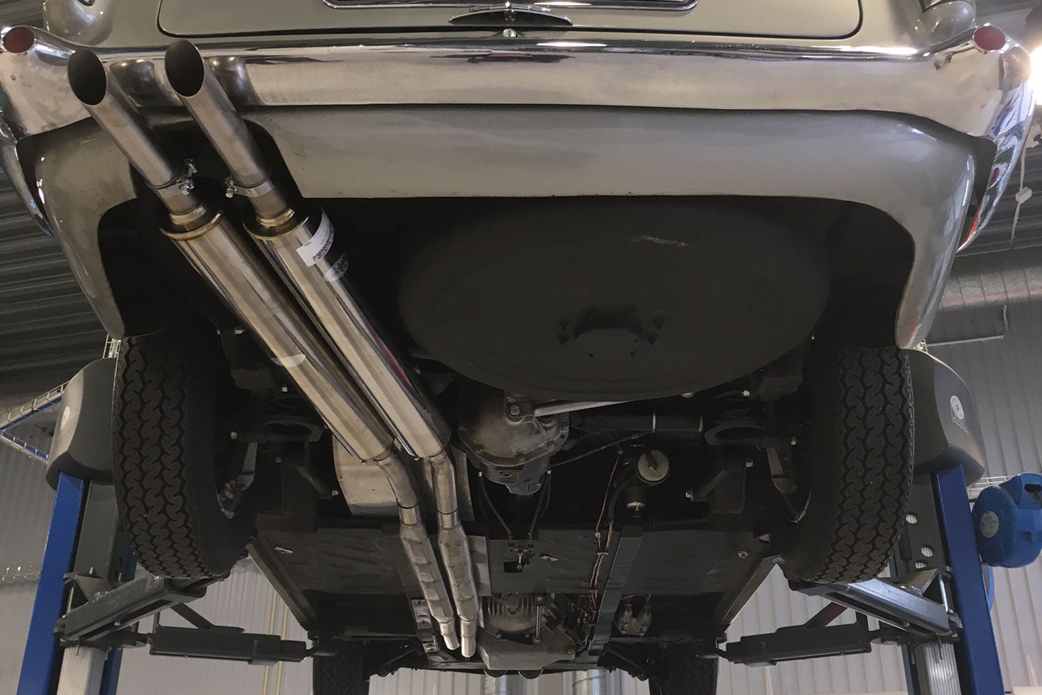 Aston Martin Db4 Gt And Zagato Exhaust System 1958 63 Quicksilver Exhausts