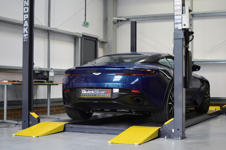 Aston Martin DB11 V8 Titan Sport Active Valve OR NON Valved Exhaust Rear Section (2018 on)
